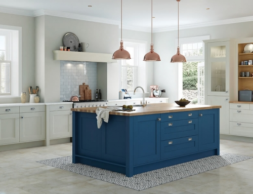Wakefield – Parisian Blue & Mussel